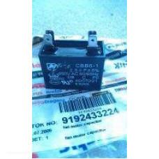 Конденсатор 2,5 mF / 50-60 Hz / 450 VAC fan motor capacitor Beko (Беко) 9192433224